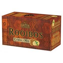 Grešík ROOIBOS CITRÓN + MED čaj 20 x 1,5 g