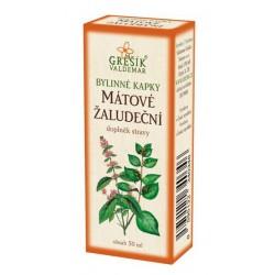 Mátové žaludeční bylinné kapky