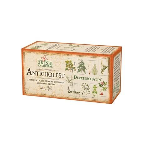 Grešík ANTICHOLEST čaj 20 x 1,5 g