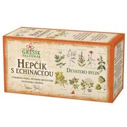 Grešík HEPČÍK S ECHINACEOU čaj 20 x 1,5 g