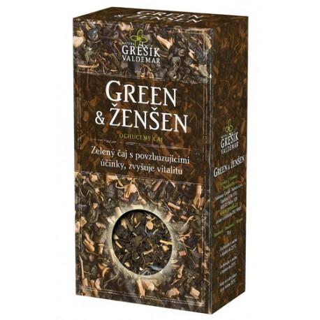 Grešík GREEN & ŽENŠEN 70 g