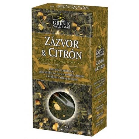 Grešík ZÁZVOR & CITRÓN čaj 70 g