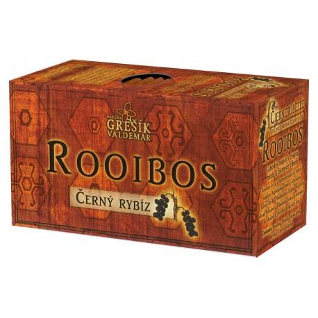 Grešík ROOIBOS ČERNÝ RYBÍZ čaj 20 x 1,5 g