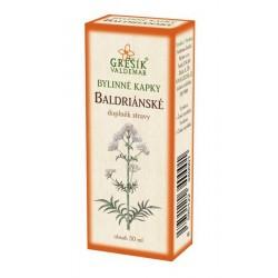 Baldriánské bylinné kapky