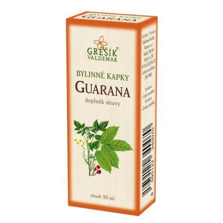 Guarana bylinné kapky