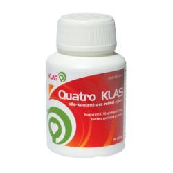 Klas Quatro Klas (Q10, ginkgo, ženšen, vit. E) 30 ks