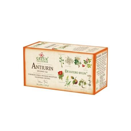 Grešík ANTIURIN čaj 20 x 1,2 g