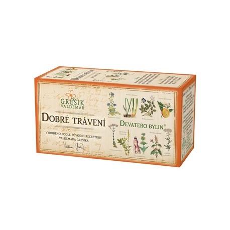Grešík DOBRÉ TRÁVENÍ čaj 20 x 1,5 g