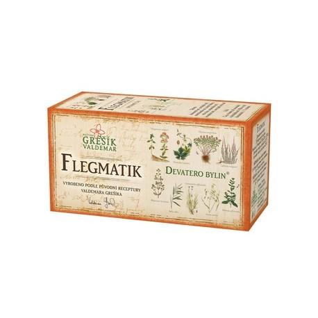 Grešík FLEGMATIK čaj 20 x 1,5 g
