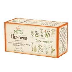 Grešík HEMOPUR čaj 20 x 1,2 g