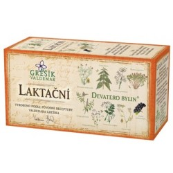 Grešík LAKTAČNÍ čaj 20 x 1,5 g