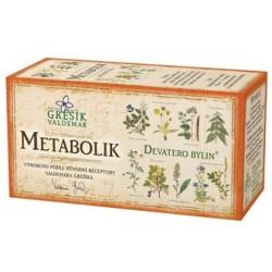 Grešík METABOLIK čaj 20 x 1,5 g
