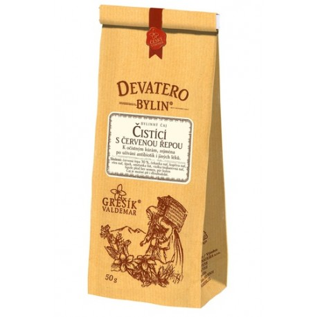 Grešík ČISTÍCÍ S ČERVENOU ŘEPOU čaj 50 g